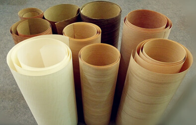natural wood veneers paper back