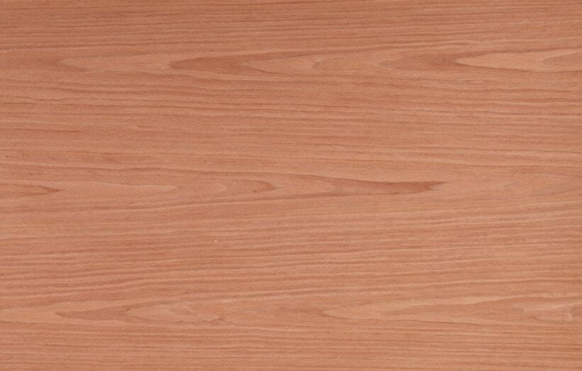 Cherry wood veneer sheets reconstituted